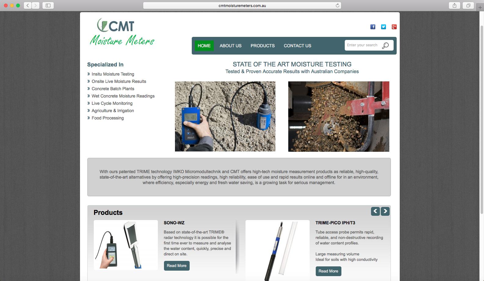 CMT Moisturemeters