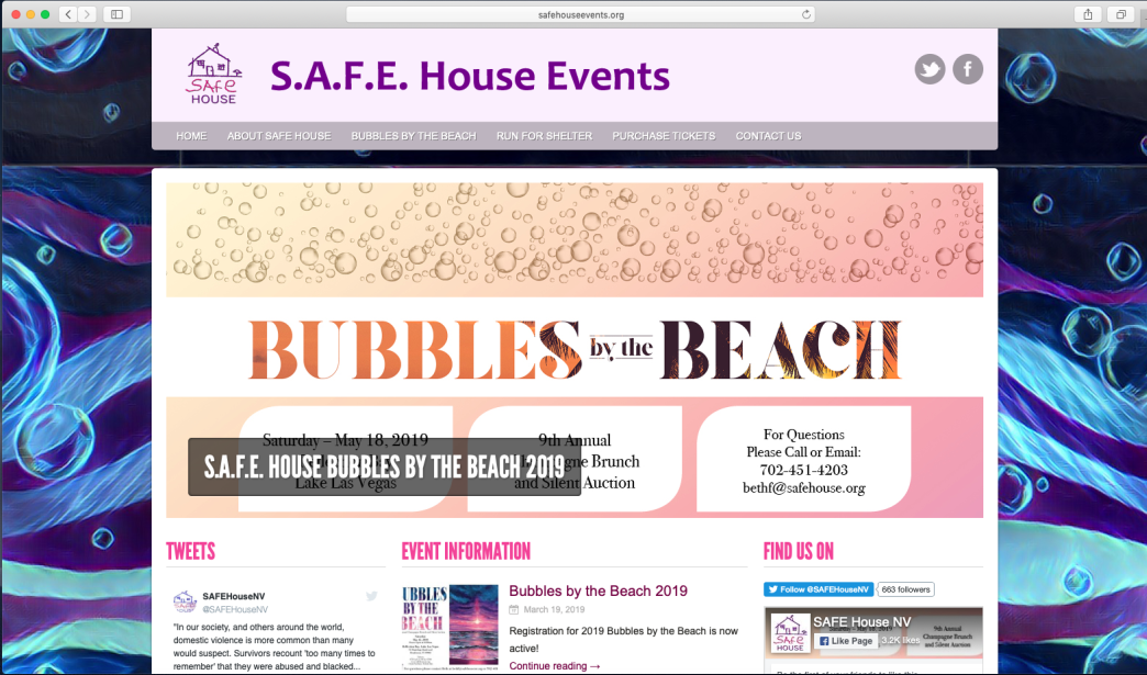 SAFE House Events